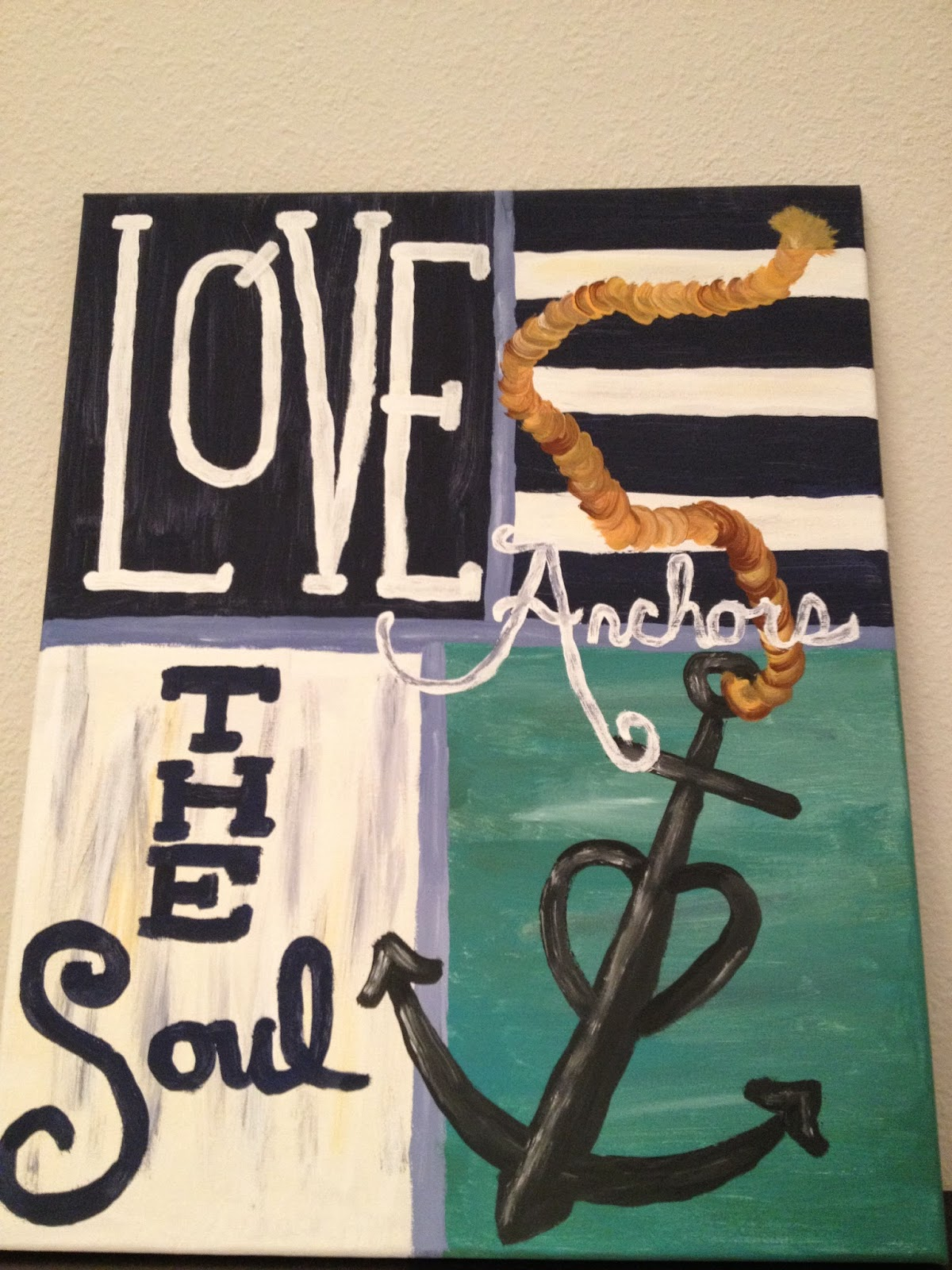 Love Anchors The Soul Painting