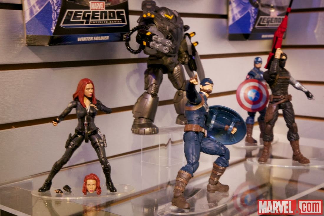 Captain America: The Winter Soldier,action figures