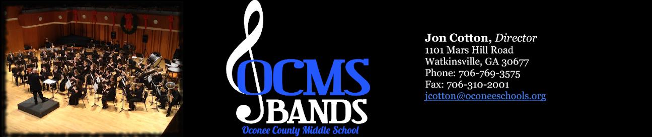 Oconee County Middle School Bands