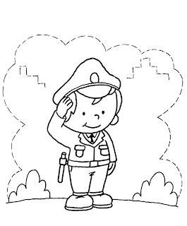 Dia dos Soldados - Desenhos Para Colorir