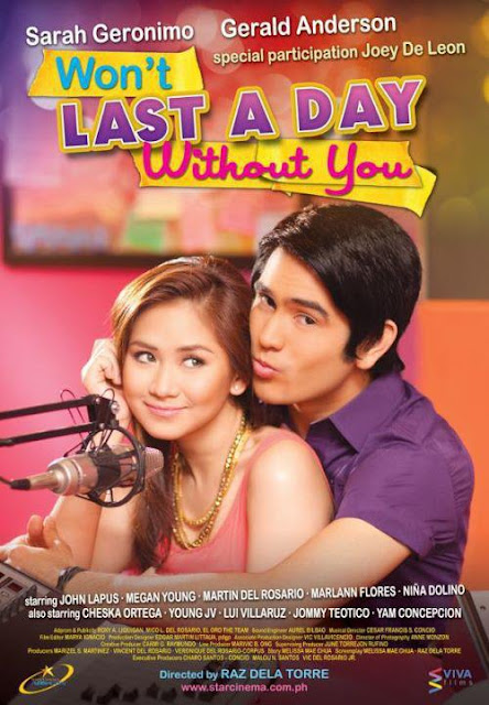 Won't Last a Day Without You Movie Poster
