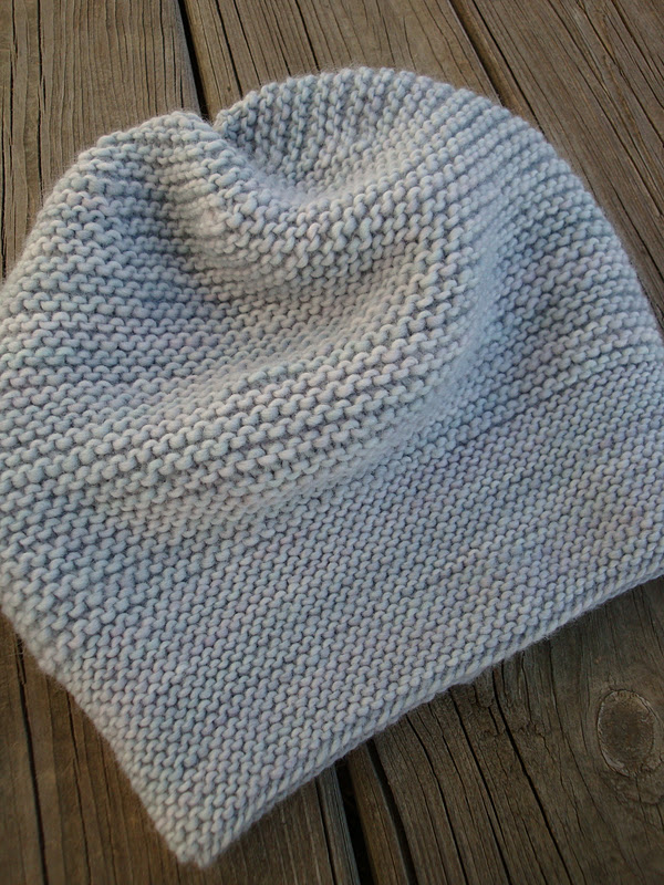 Free Knitting Pattern Garter Stitch Hat : free knitting pattern for beginners Knitting ...
