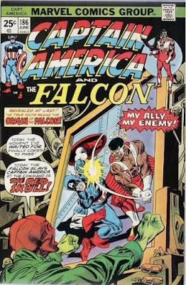 Captain America and the Falcon #186, the Red Skull