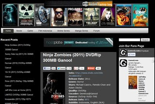 Tutorial Cara Download Movie Film di Ganool