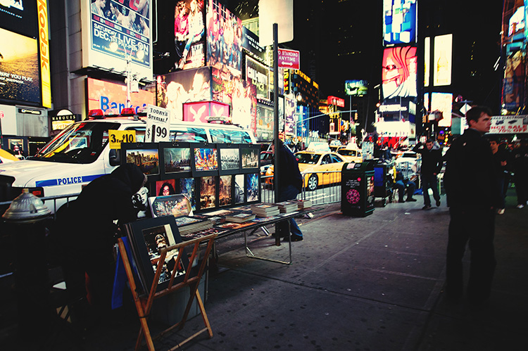 New York Travel Holiday Itinerary_Time Square
