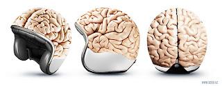capacete cabeça globo de cérebro