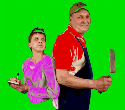 Chef Randy & Waitress Nosey Norma Exposed As Undercover Reporters for The Daily Boar Newspaper