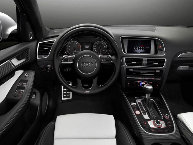 Audi SQ5 TFSI 2013 interior