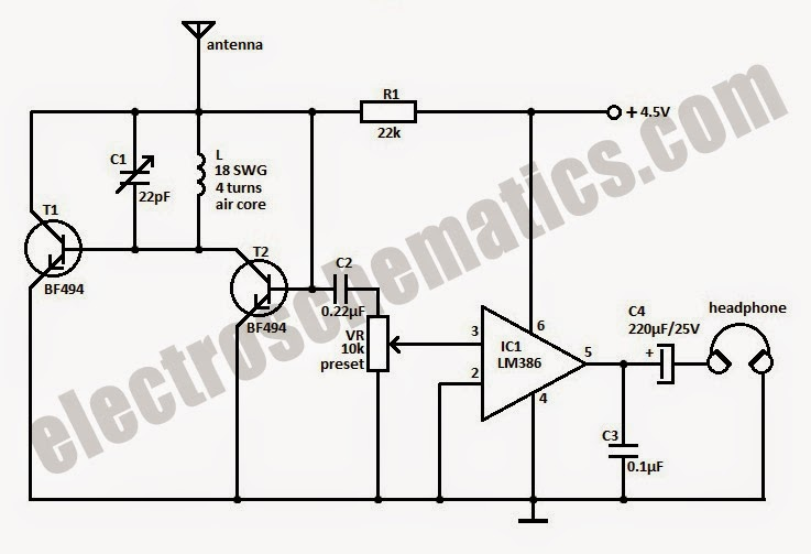 Electronic Control In Mechatronictu Mdy Tiny Fm Radio Receiver