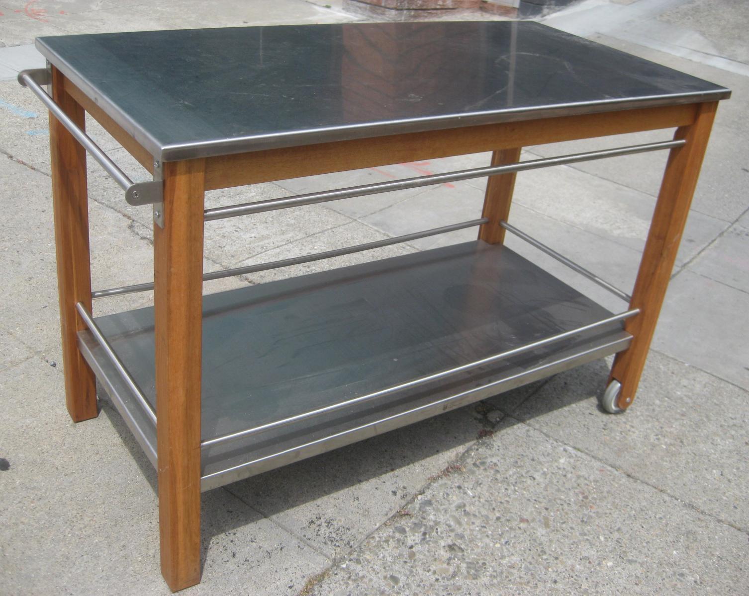 Uhuru Furniture Collectibles Sold Pier 1 Kitchen Cart 140