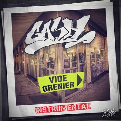 Gash - Vide Grenier (Beat Tape) (2015)