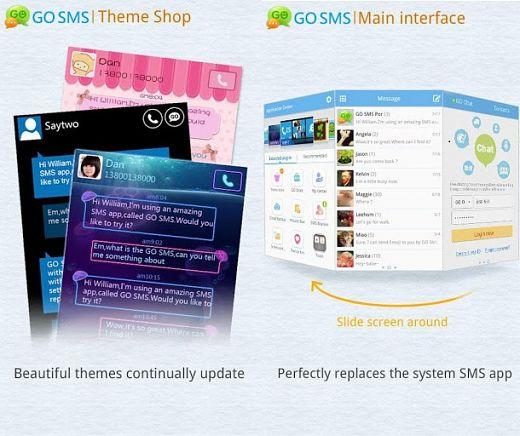 GO SMS Pro Premium Full Crack Android