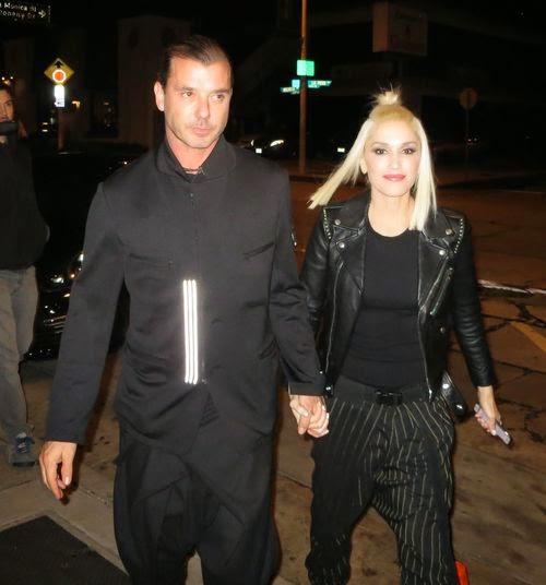 Gwen Stefani & Gavin: Sexy Style Couple in Black