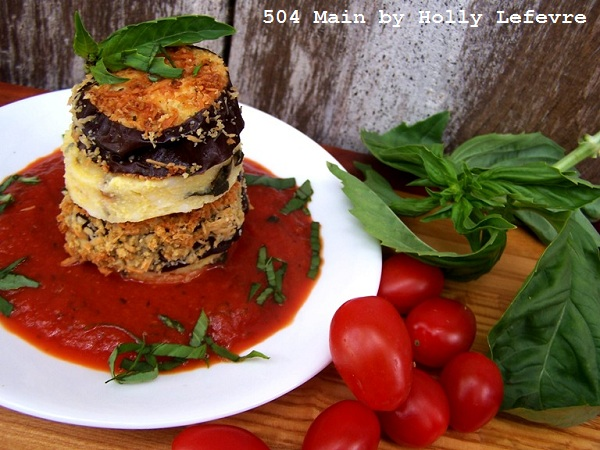 Kraft Fresh Take Polenta Eggplant Stack