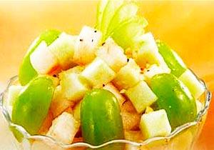 Фруктовый салат с виноградом рецепт