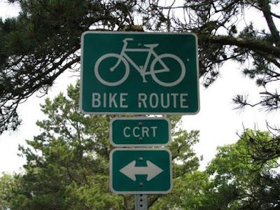 Cape Cod Rail Trail Sign