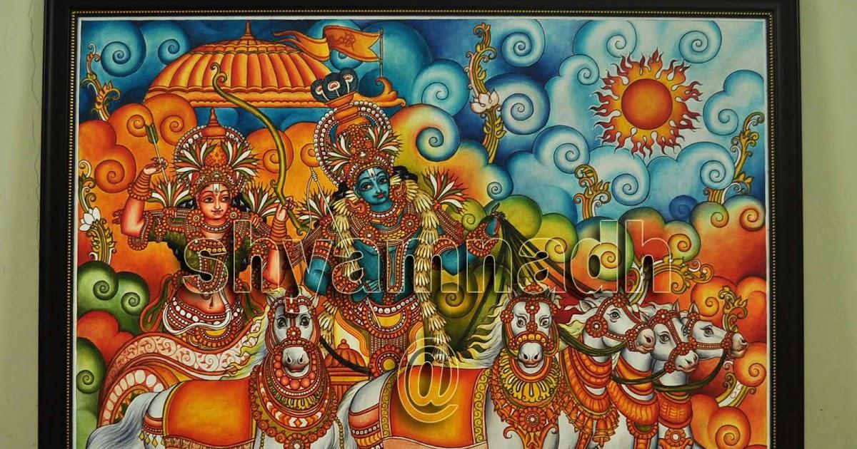 Artist shyamnadh for Asha mural painting guruvayur