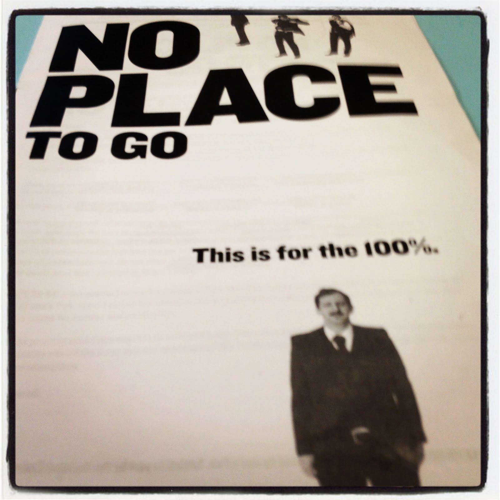 ... Ethan Lipton's No Place to Go is a serio-comedic