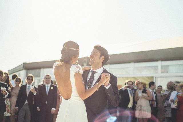novia vestido laure sagazan boda albacete corona flores maxi
