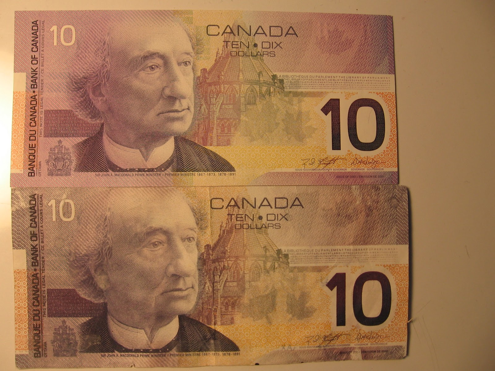 1973 canadian one dollar bill serial number