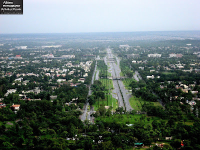 7th Avenue as seen from Daman-e-Koh, Daman-e-Koh, Islamabad (Hill Resort), Photography by Shahzil Rizwan