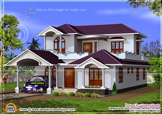 Kerala model house