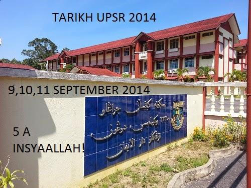 TARIKH UPSR 2014