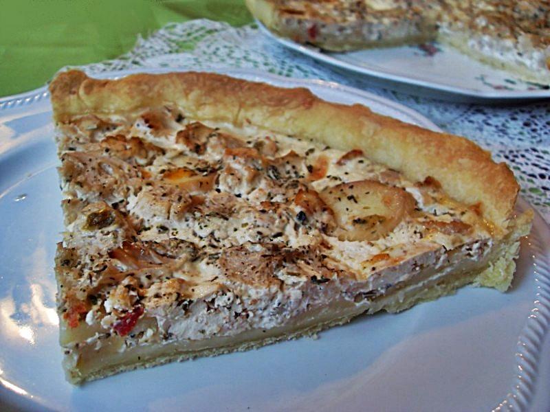 Ma Cuisine Vegetalienne Tarte Pomme De Terre Chou Fleur Vegan