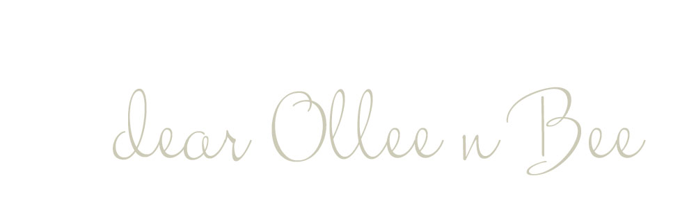 dear ollee n bee ~ love, pg | prairie girl studio