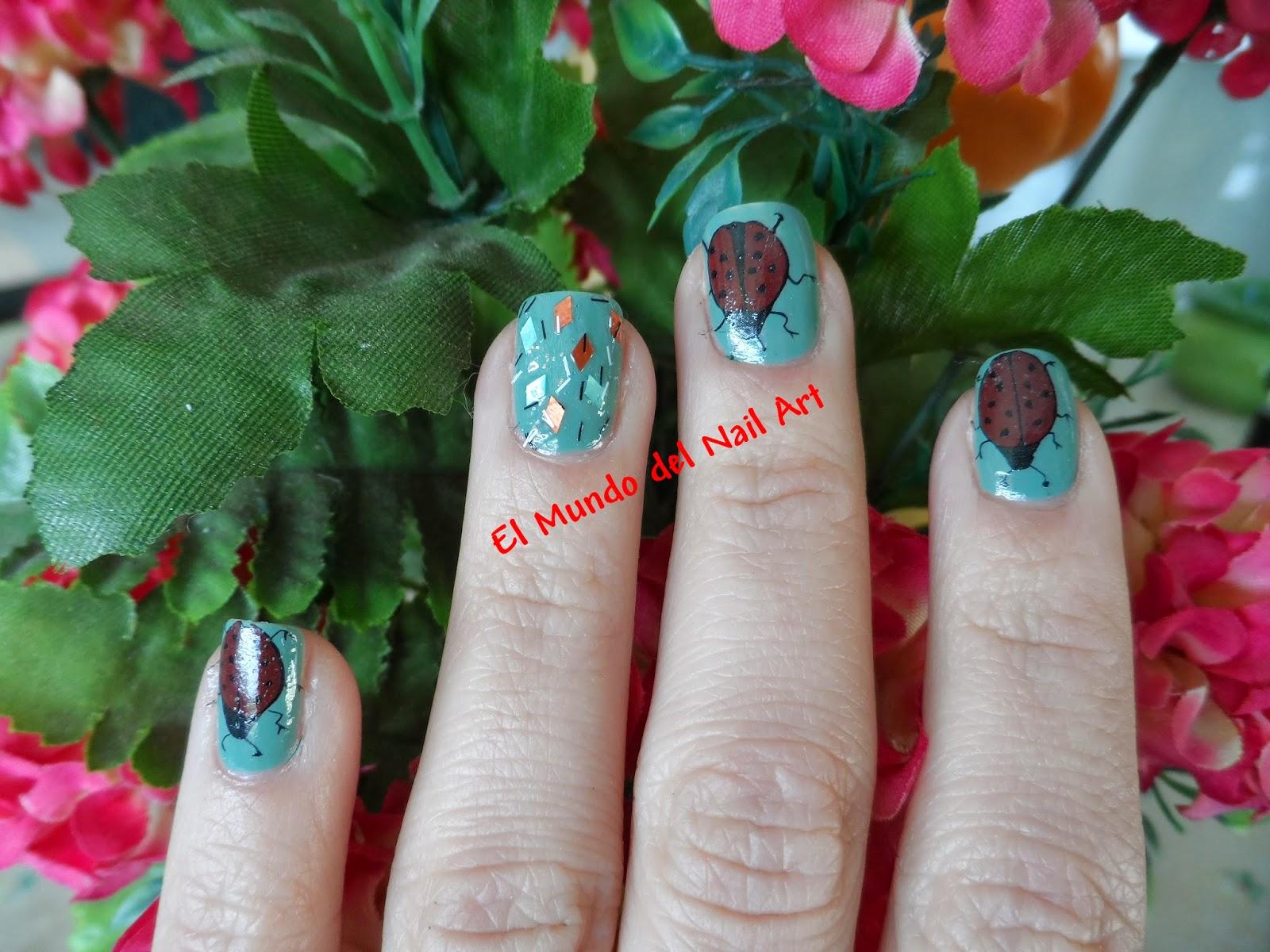 El Mundo del Nail Art: marzo 2014