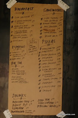 gjelina menu