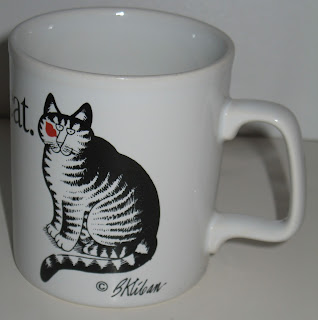 B. Kliban Cat Coffee Mugs