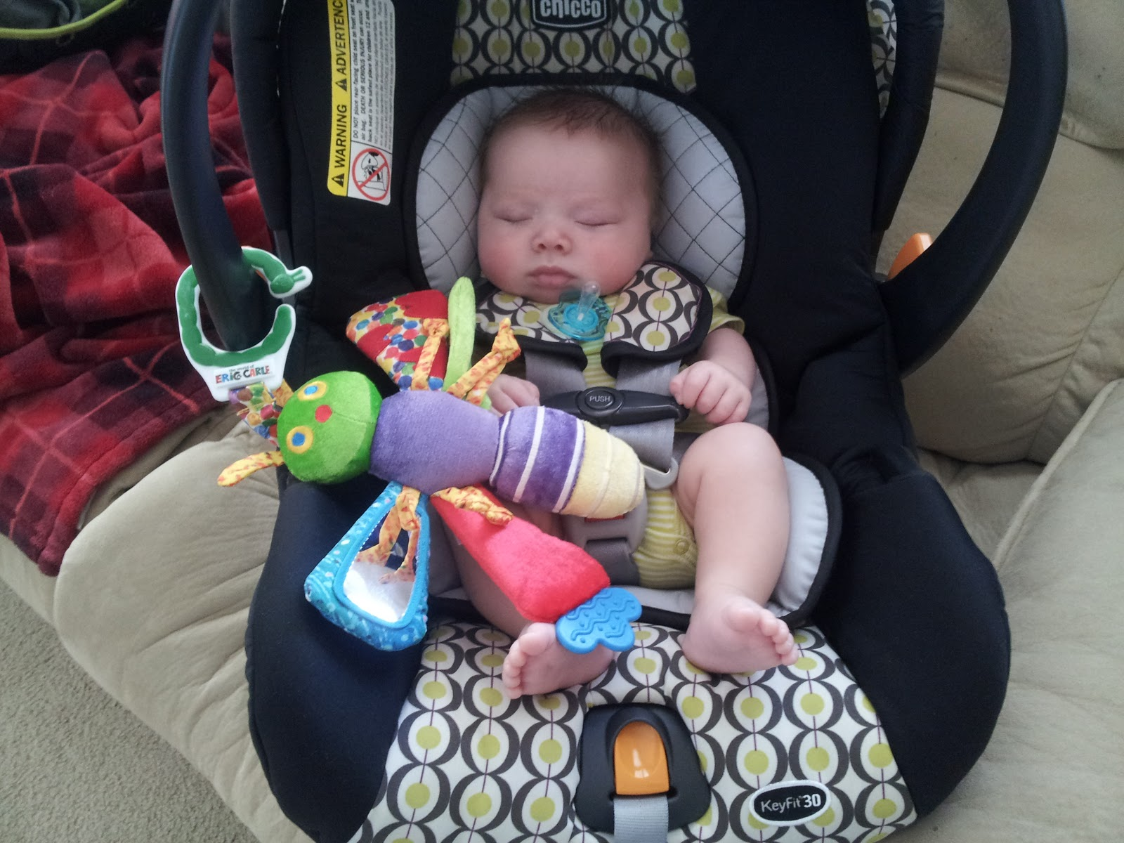 Letting Baby Cry In Car Seat