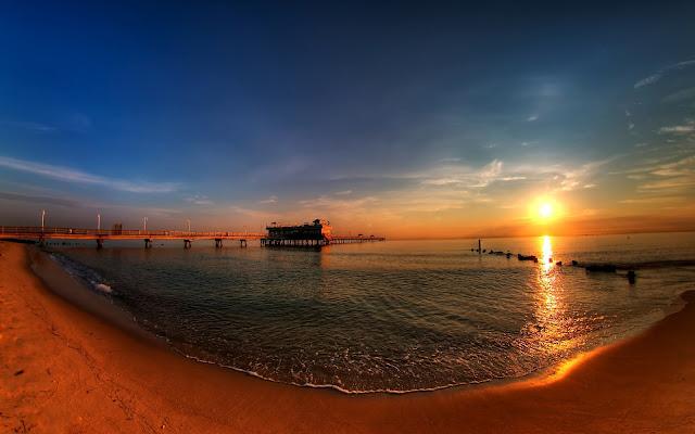 Paisajes de Atardeceres en Playas