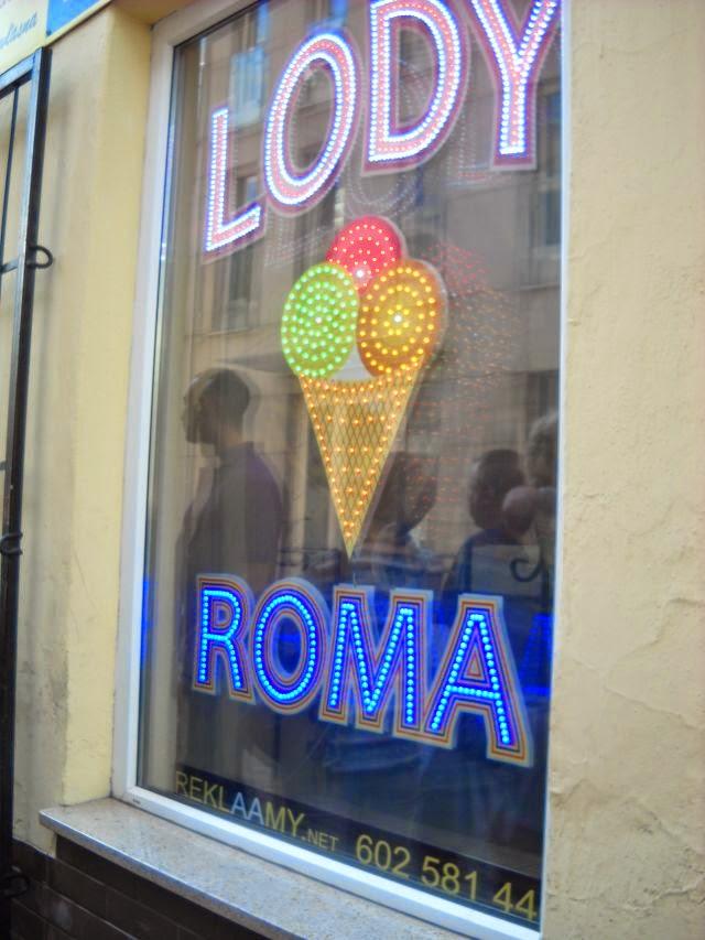 Na lody do ROMY