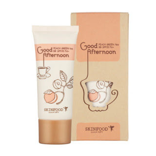 Recenzja - SkinFood, Good Afternoon Peach Green Tea BB Cream SPF20