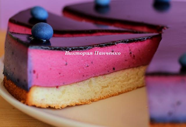 Торт со смородиной фото