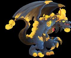 imagen del dragon midas