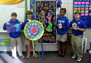 Montgomery Catholic Student Learn Spanish Traditions for All Saints & All Souls Days 1