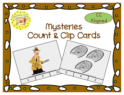 http://www.teacherspayteachers.com/Product/Mysteries-Count-Clip-Cards-Common-Core-Aligned-909219