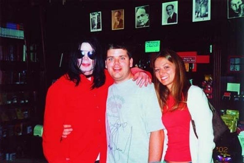 Encuentro con Michael en tienda de magia en Las Vegas, 2002. N11