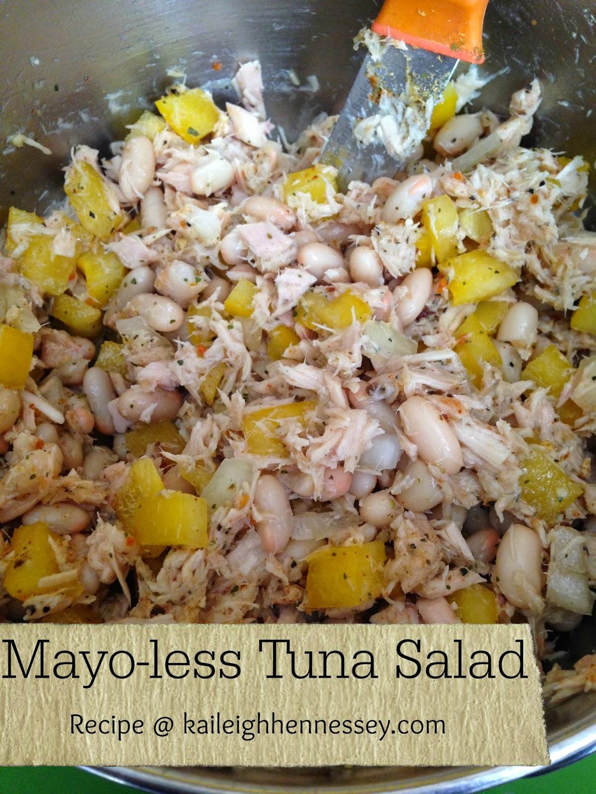 simple mayo less tuna salad tuna salad a try tuna is one of the ...