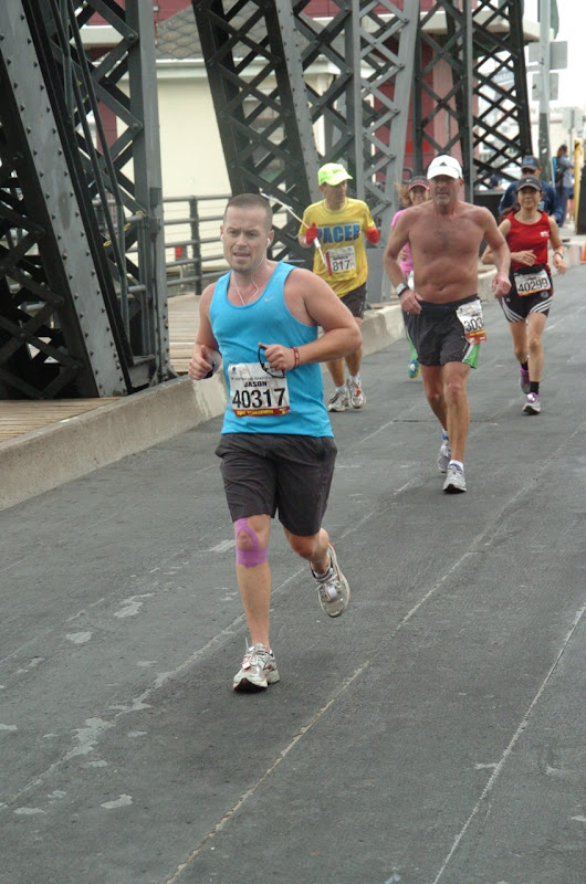 Under Bay Bridge San Francisco Marathon 2012