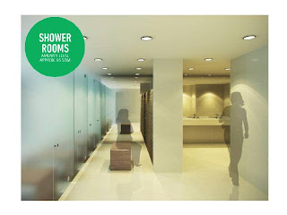 Shower Rooms at Solstice Makati