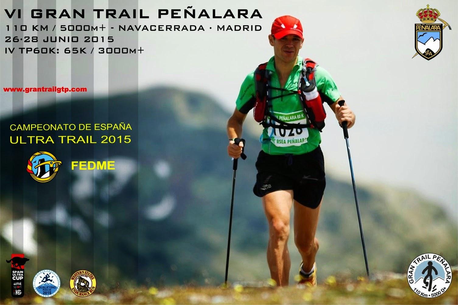 Cartel del Gran Trail de Peñalara. /GT PEÑALARA