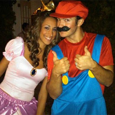 simple unique halloween couple costume - Simple And Creative Halloween Costumes