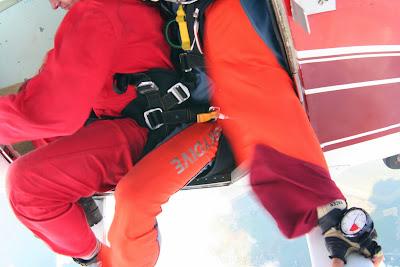 St. Peter-Ording: Fotos eines Tandem-Fallschirmabsprunges über dem ordinger Strand 12