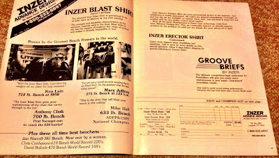 inzer blast shirt ad