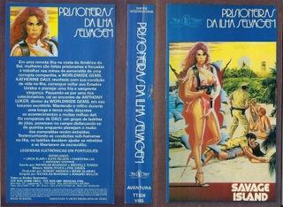 PRISIONEIRAS DAS ILHAS SELVAGENS - RARÍSSIMO (1985)