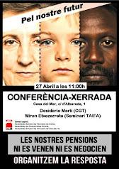 27 d'abril CASA DEL MAR  Cultura combativa i solidaria